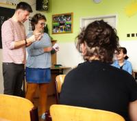 Michal Malina is paní učitelkou