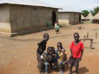Chatrč vJižním Súdánu