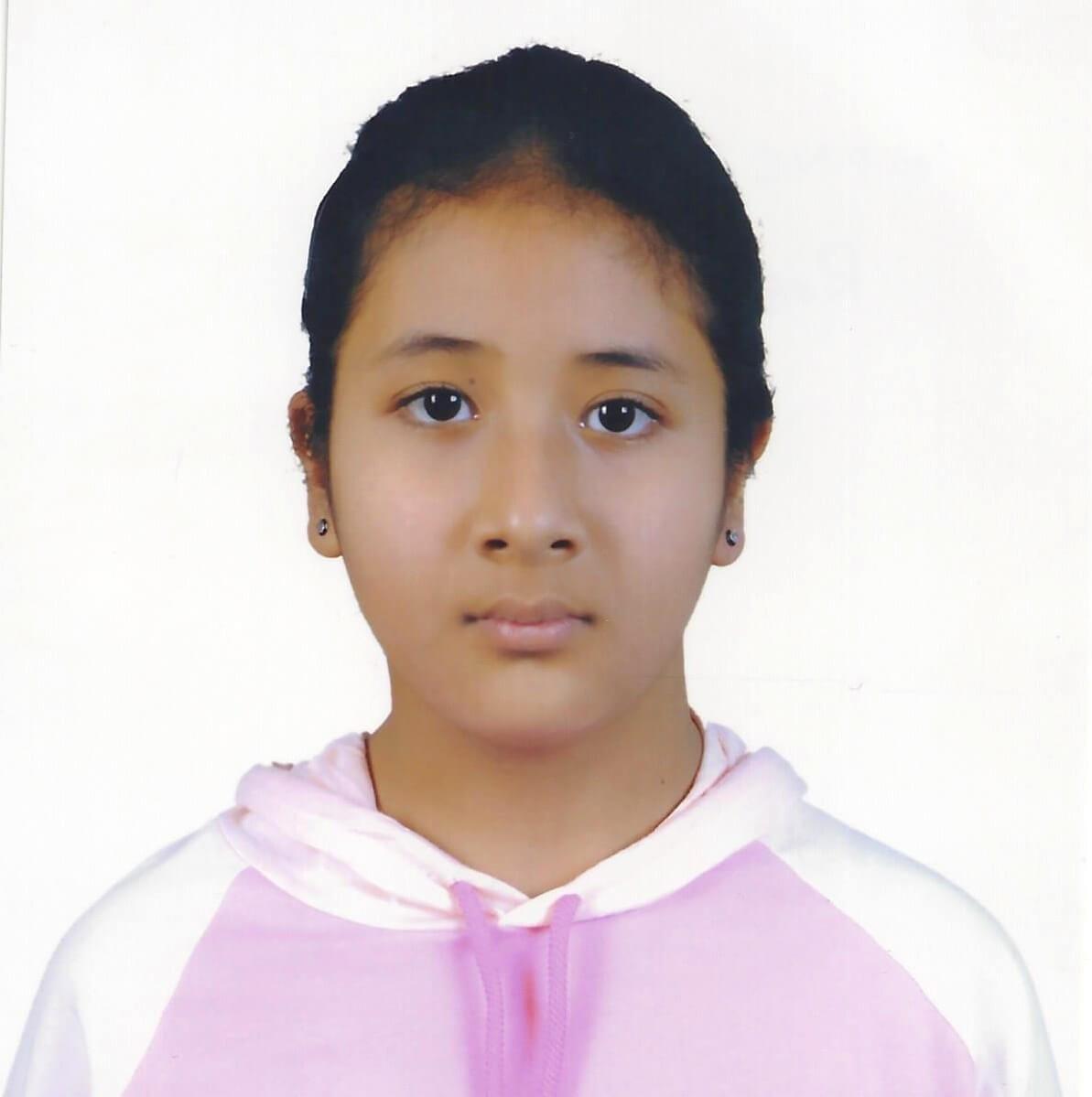 Dálková adopce dětí z Nepálu: Resika Bista