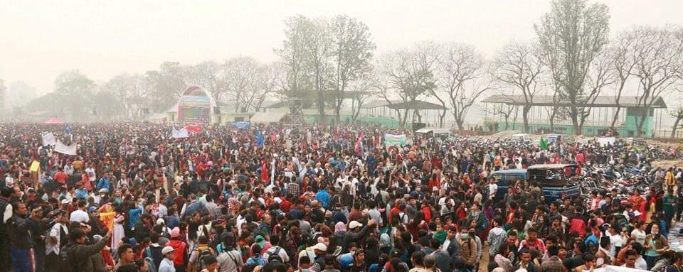 Velikonočního shromáždění v Nepálu se zúčastnilo 30 000 lidí, věřících i nevěřících.