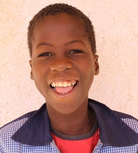Dálková adopce dětí z Burkiny Faso: Zakaria Sana