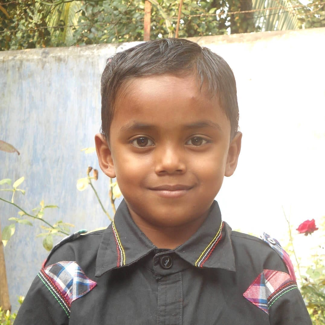 Dálková adopce dětí z Bangladéše: Bidhan Halder.