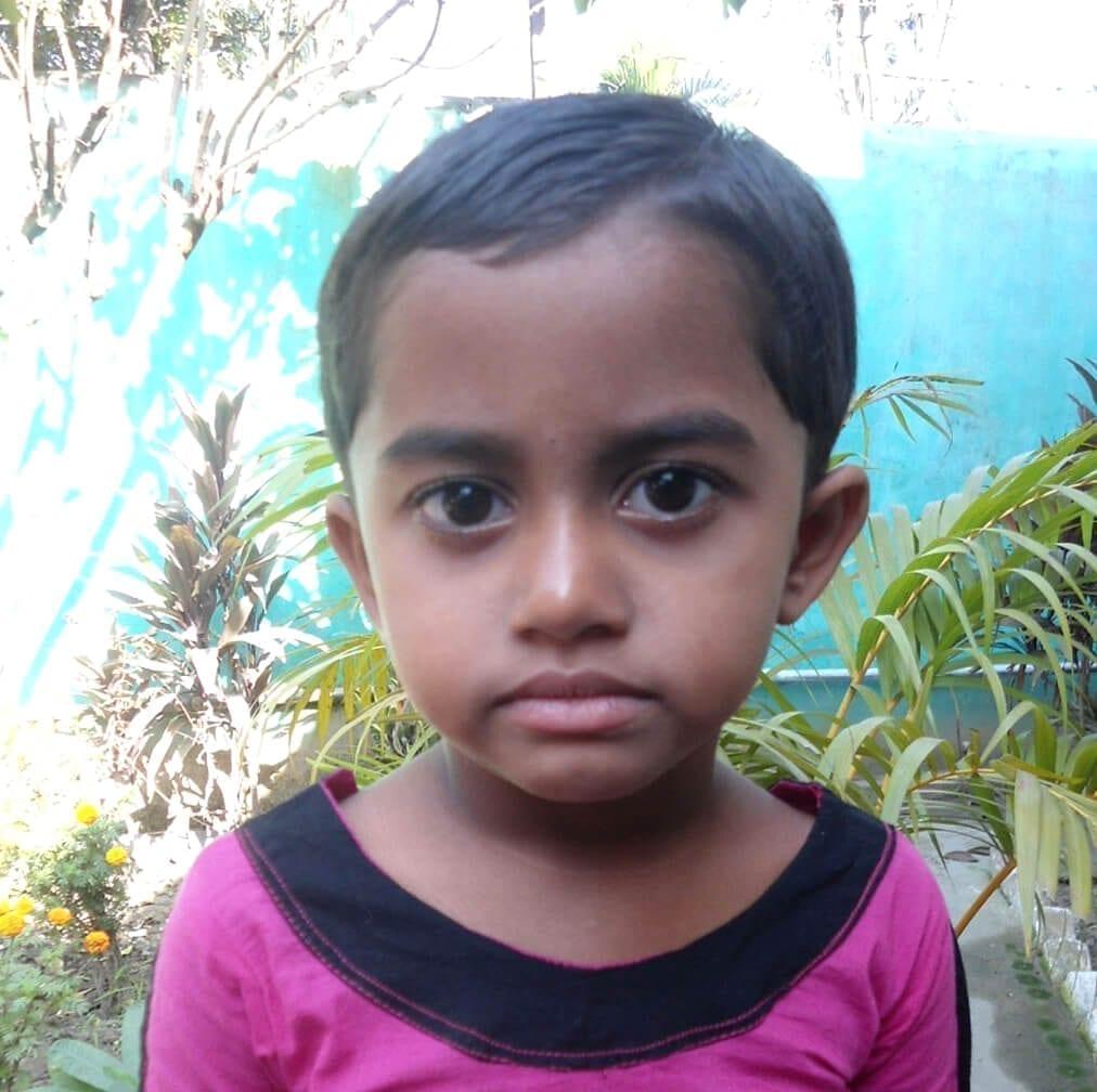 Dálková adopce dětí z Bangladéše: Kulsum Banu