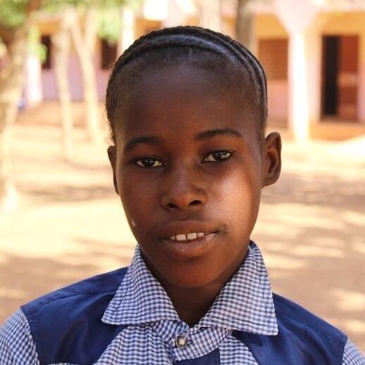 Adopce dětí na dálku z Burkiny Faso: Ruth Sankara.
