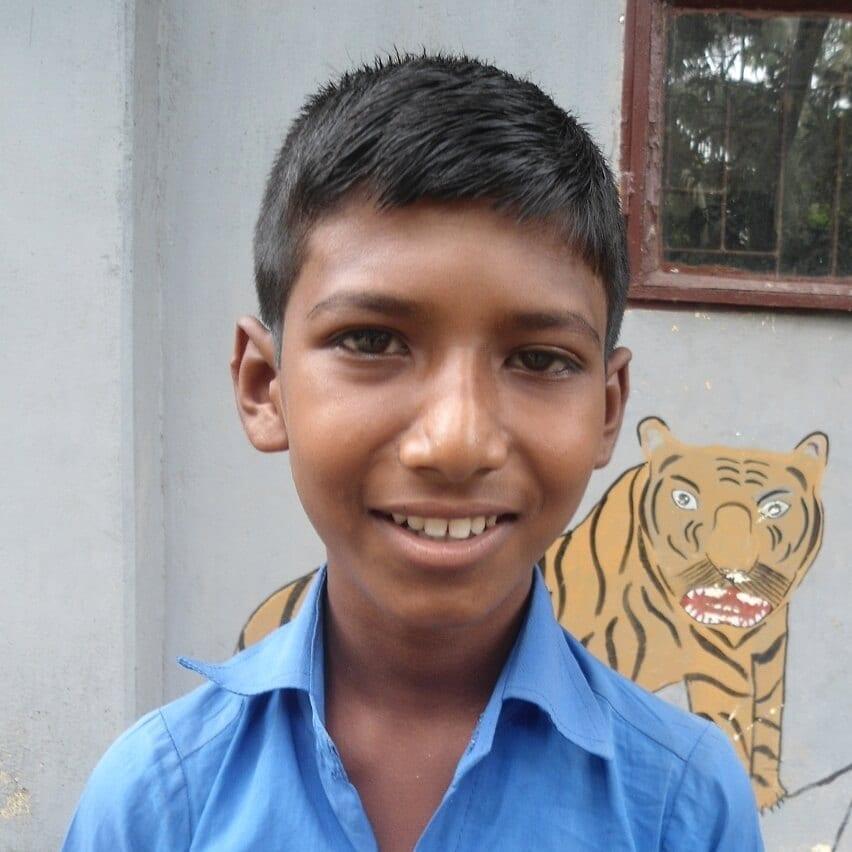 Dálková adopce dětí z Bangladéše: Dipen Halder
