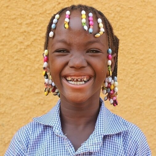 Dálková adopce dětí z Burkiny Faso: Aminata Sako