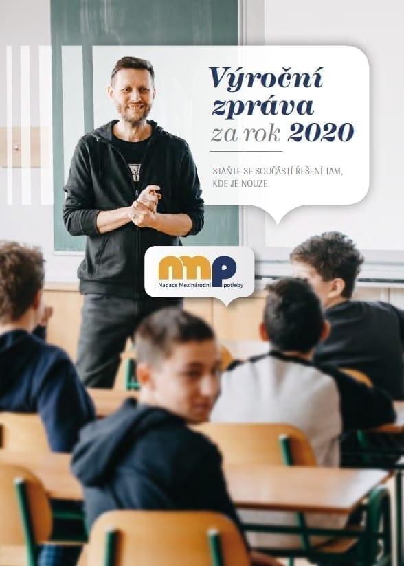 Titulní strana výroční zprávy NMP za rok 2020